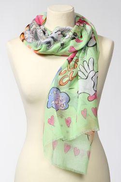 Палантин Moschino                                                                                                              многоцветный цвет
