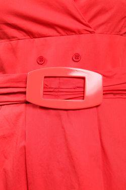 Платье С Поясом Sisline                                                                                                              красный цвет