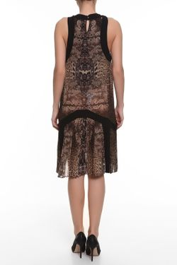 Платье Roberto Cavalli                                                                                                              коричневый цвет