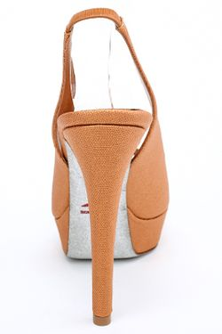 Туфли Rene' Caovilla                                                                                                              коричневый цвет