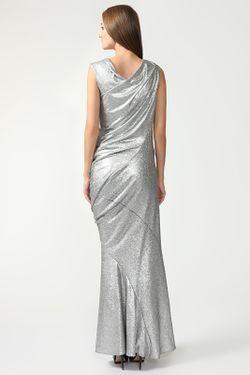 Платье Вечернее Donna Karan                                                                                                              Серебряный цвет