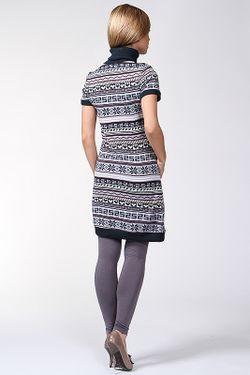 Платье В Скандинавском Стиле Relax Mode                                                                                                              фиолетовый цвет