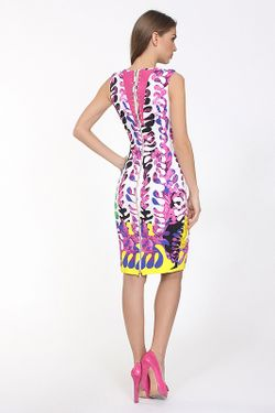 Платье Джерси Versace                                                                                                              многоцветный цвет