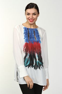 Блуза Dondup                                                                                                              белый цвет