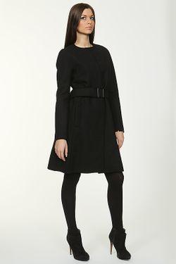 Пальто С Поясом Victoria Beckham                                                                                                              чёрный цвет
