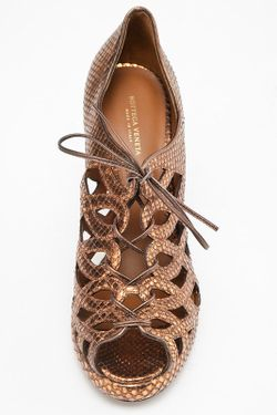 Туфли Bottega Veneta                                                                                                              коричневый цвет
