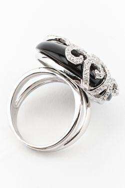 Кольцо Pistachio                                                                                                              чёрный цвет