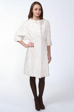 Шуба Izeta                                                                                                              белый цвет