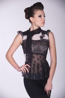 Блуза Arefeva                                                                                                              черный цвет