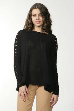 Пуловер Джерси Malandrino                                                                                                              черный цвет