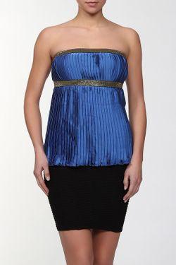 Блуза Doctor E                                                                                                              синий цвет