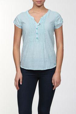 Блуза TOM TAILOR                                                                                                              зелёный цвет