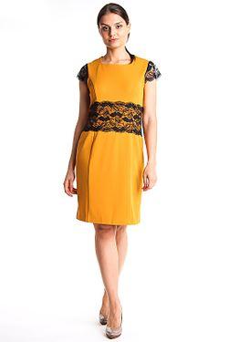Платье Донна Kristina                                                                                                              желтый цвет