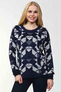 Пуловер Vero Moda                                                                                                              синий цвет