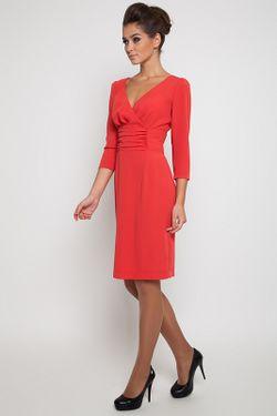 Платье NVCollection                                                                                                              красный цвет