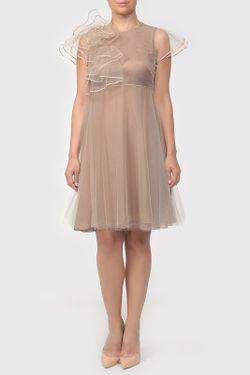 Платье Valentino                                                                                                              многоцветный цвет