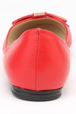 Балетки Sattini                                                                                                              красный цвет
