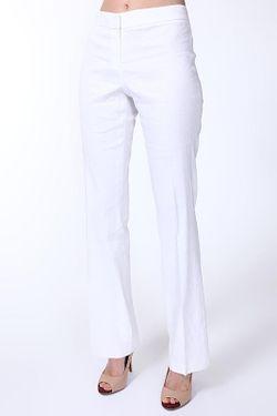 Брюки Elie Tahari                                                                                                              белый цвет