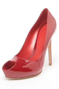 Туфли Alexander McQueen                                                                                                              красный цвет
