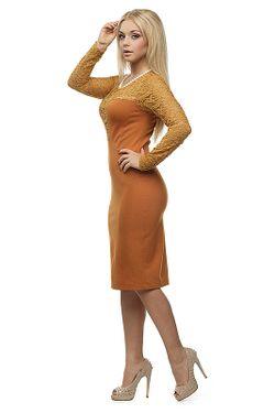 Платье Петербургский Швейный Дом                                                                                                              бежевый цвет