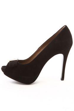 Туфли Renzi                                                                                                              черный цвет