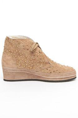 Ботинки Baldinini                                                                                                              бежевый цвет
