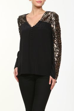 Блуза BCBG                                                                                                              черный цвет