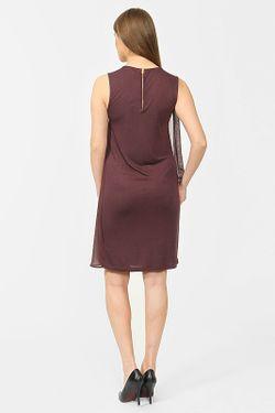 Платье Selected                                                                                                              коричневый цвет
