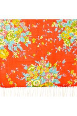 Палантин Sabellino                                                                                                              оранжевый цвет
