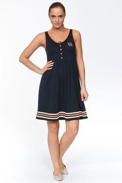 Платье В Морском Стиле Relax Mode                                                                                                              синий цвет