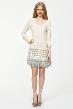 Платье Luisa Spagnoli                                                                                                              белый цвет