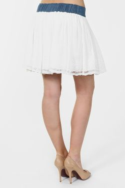 Юбка Silvian Heach                                                                                                              белый цвет