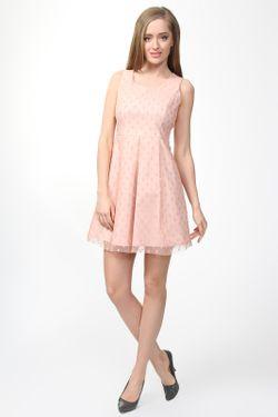 Платье Pois                                                                                                              розовый цвет