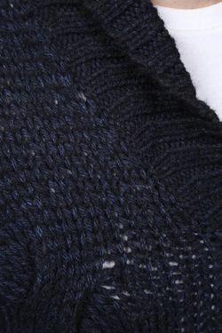 Джемпер Вязаный HUGO BOSS                                                                                                              синий цвет