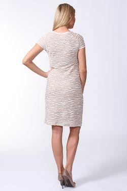 Платье Carla B                                                                                                              бежевый цвет