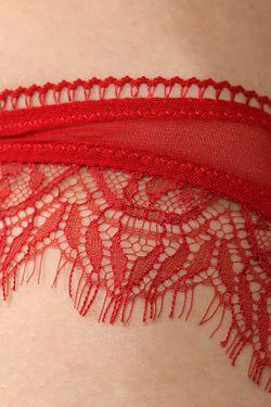 Трусы Kiki De Montparnasse                                                                                                              красный цвет