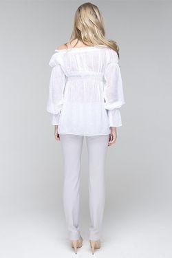 Блузка Gloss                                                                                                              белый цвет