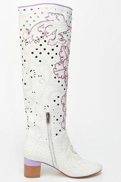 Сапоги Norka                                                                                                              белый цвет
