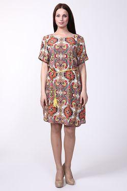 Платье С Ремнем Miss Istanbul                                                                                                              коричневый цвет