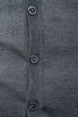 Кардиган Вязаный Dolce & Gabbana                                                                                                              серый цвет