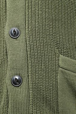 Кардиган Вязаный Ralph Lauren                                                                                                              зелёный цвет