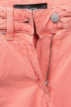 Джинсы Isabel Marant                                                                                                              розовый цвет