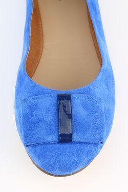 Балетки Provocante                                                                                                              синий цвет