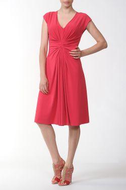 Платье Джерси Armani                                                                                                              розовый цвет
