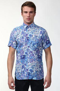 Рубашка Etro                                                                                                              голубой цвет