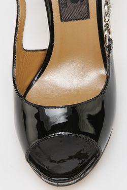 Босоножки Cesare Paciotti                                                                                                              чёрный цвет