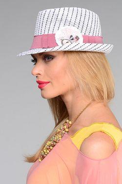 Шляпа Lak Miss                                                                                                              белый цвет