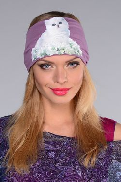 Повязка Lak Miss                                                                                                              фиолетовый цвет