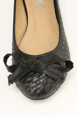 Балетки Burlesque                                                                                                              чёрный цвет