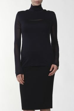 Блуза Джерси Alexander McQueen                                                                                                              синий цвет